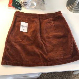 Curduroy Forever 21 Skirt